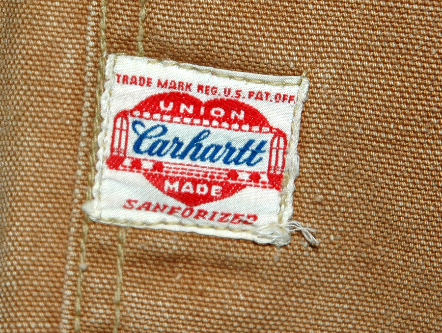 Vintage clothing labels