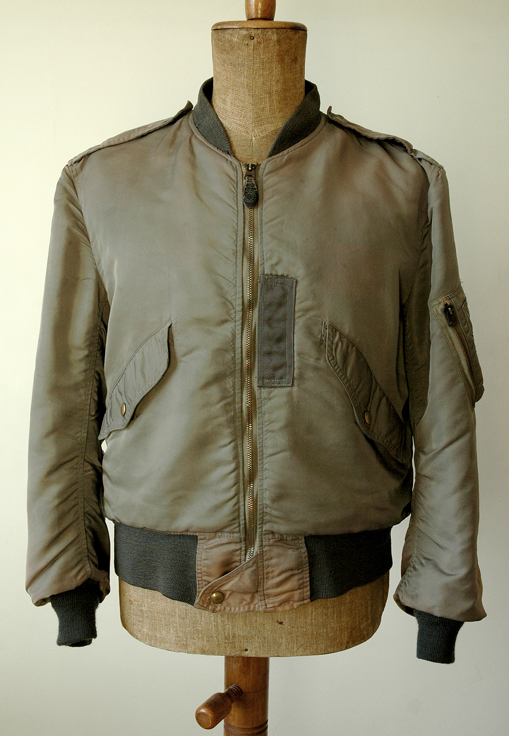 L2B-light zone flight jacket | Ragtop Vintage Clothing