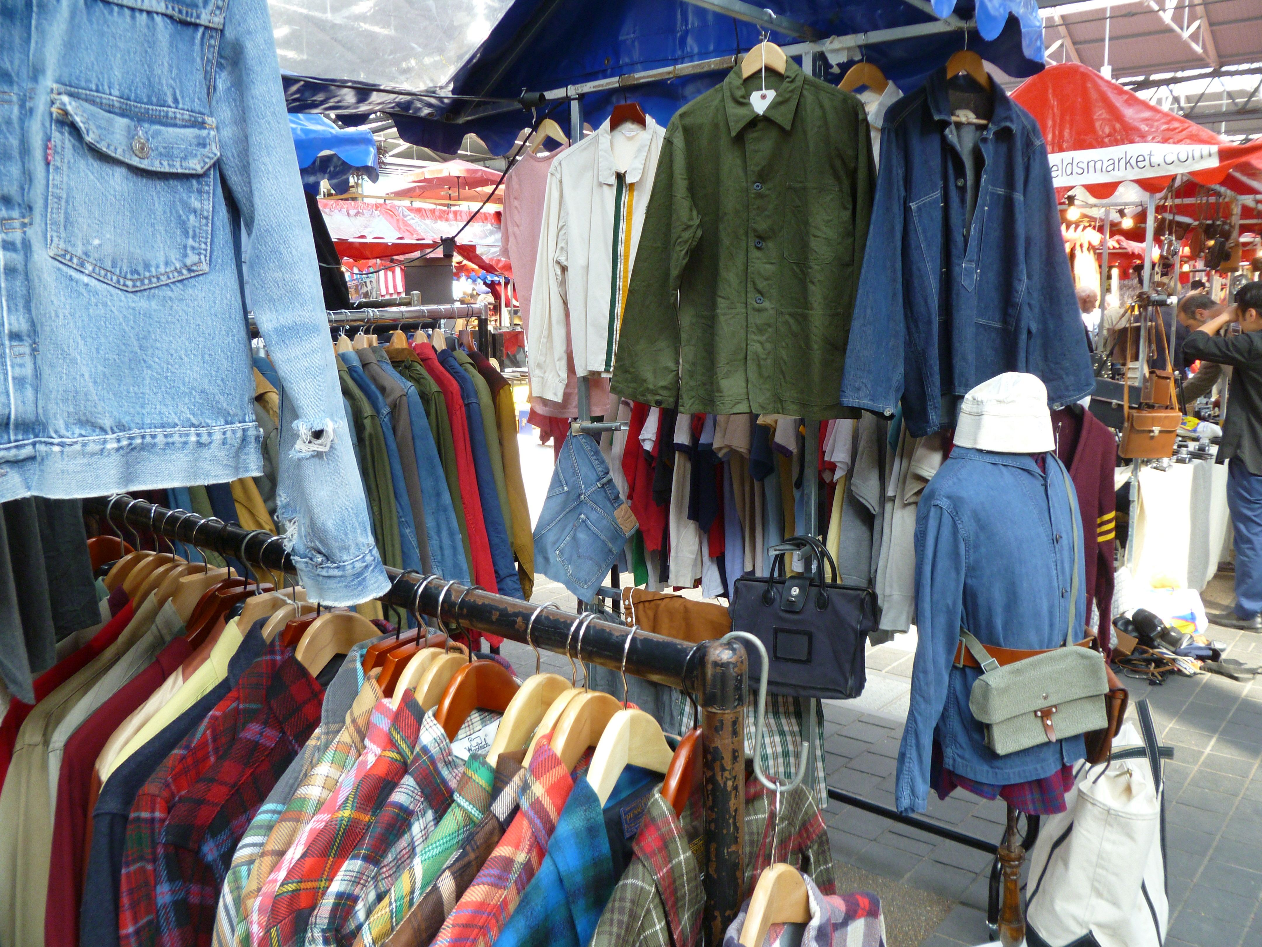 thursday at spitalfields antique market ragtop vintage clothing
