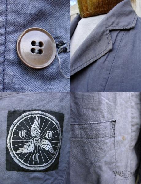 Aviation Jacket Collage