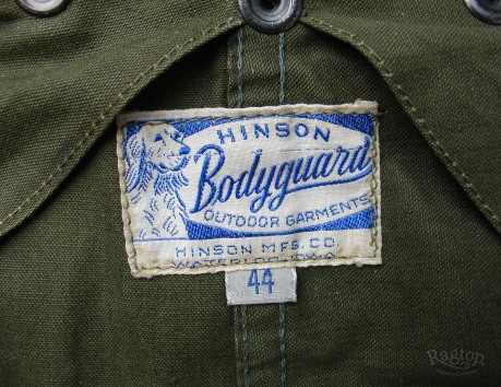 Hinson Bodyguard Label