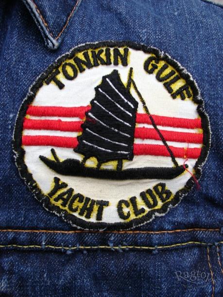 Levis Tonkin patch