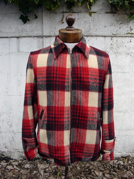 Red Plaid jkt