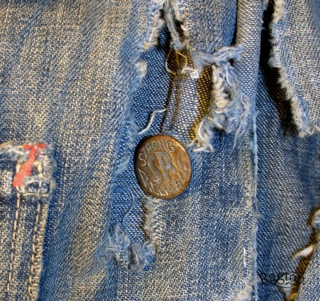 Kids Denim Button