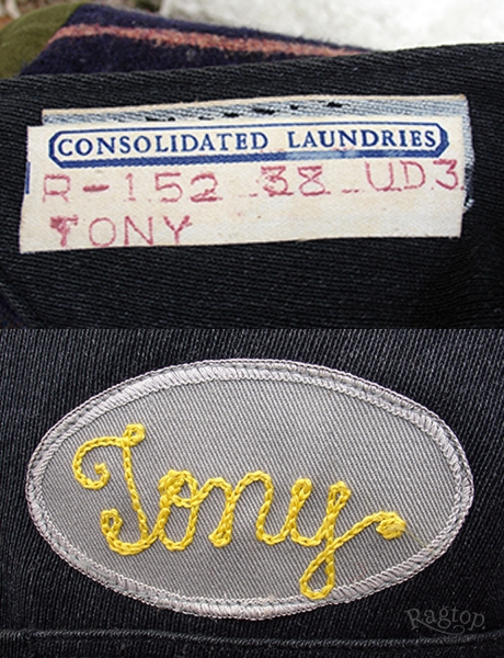 Tony Jacket Patch