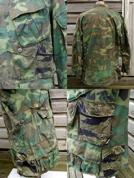camo pockets collage
