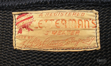 Letterman 0 label