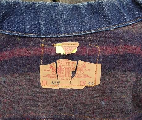 Levis Type 3 label
