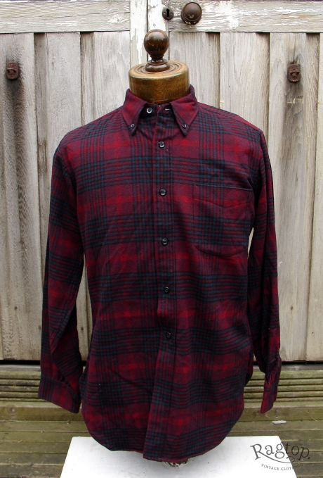 pendleton shirt red